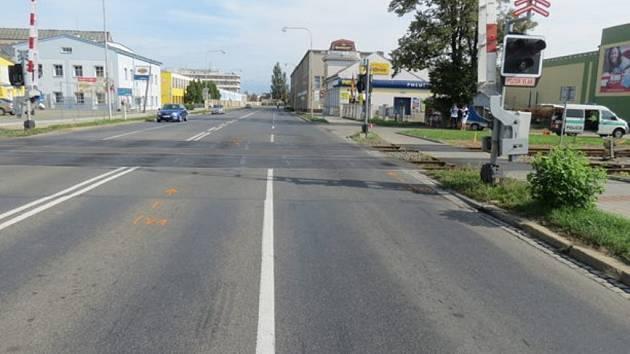 Nehodu v Kroměříži zavinil vozík odpojený za jízdy z dodávky