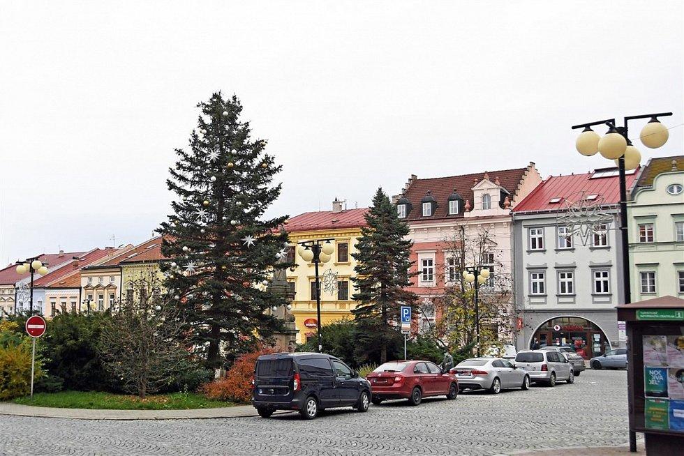 Vánoční strom 2020 ve Valašském Meziříčí