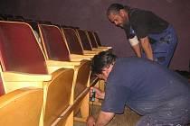 Oprava domu kultury ve Zdounkách