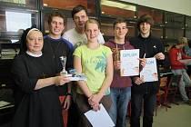 Piškvorkový turnaj, na němž se utkali studenti středních škol z regionu, se v pátek 13. listopadu konal na Obchodní akademii v Kroměříži.