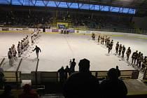 Benefiční hokejové utkání se v sobotu 14.1. konalo na zimním stadionu v Kroměříži.
