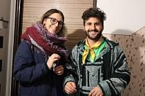 Dobrovolníci SVČ TYMY Zuela a Fernando