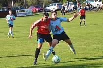 Fotbal v Roštění. Ilustrační foto