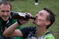 Rohálovský ultramaraton 2021, Jaroslav Vicher se běžel po identické trati jako bikerov