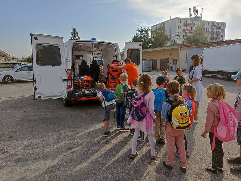 Exkurze druháčků Základní školy Zachar v Kroměříži.