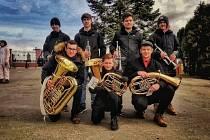 Mladí muzikanti ze Zdounek v Chvalnově