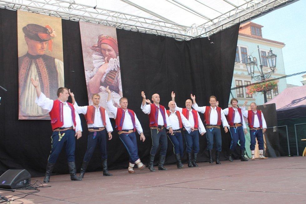 O víkendu Kroměříž ožila už po deváté krajskými dožínkami.