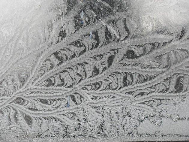 Kroměřížsko zasáhly mrazy. Ilustrační foto.