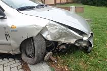 Nehoda v Pravčicích