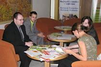 V kroměřížském Domě kultury se ve čtvrtek 21. května 2009 konal Informační den Evropského polytechnického institutu z Kunovic.