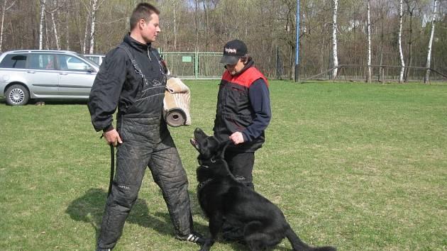 V Holešově se v sobotu 7. dubna konalo školení figurantů.