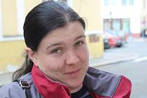 Lenka Lišková je majitelkou domu, který poničil požár rodinného domu sousedů ve Chvalnově