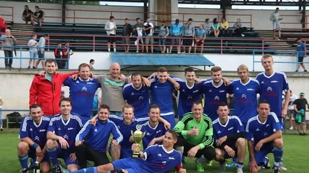 Fotbalisté Zdounek nyní hrají krajskou I. B třídu skupinu C.
