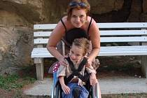 Matýsek se narodil předčasně a je od narození postižený. Jeho maminka bude ráda za každou pomoc.