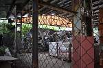Nelegální skládka odpadu v dřínovské cihelně 1. 7. 2020