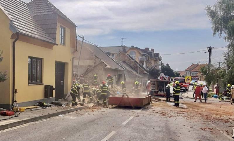 K explozi došlo v rodinném domě v Koryčanech na Kroměřížsku