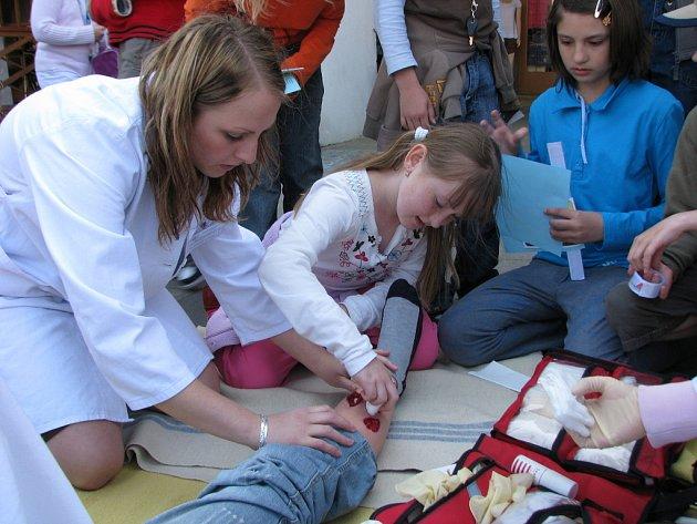 Na Velkém náměstí v Kroměříži se 14. 5. 2008 konal Mezinárodní den ošetřovatelství, jehož organizace se ujala tamní Střední zdravotnická škola a město Kroměříž.