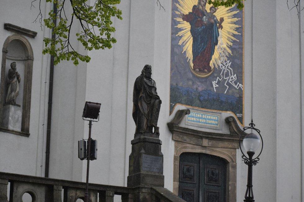 Svatý Hostýn, 29. května 2021.