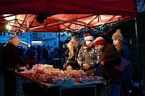 Vánoční trh. Ilustrační foto.