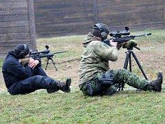 V Dobroticích soutěžili odstřelovači.