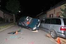 Řízení Škody Felicia nezvládl v neděli dvě a půl hodiny po půlnoci v Bystřici pod Hostýnem třicetiletý opilý řidič.