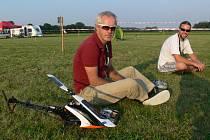 Od pátku 5. července do neděle 14. července se na kroměřížském letišti koná setkání pilotů modelů vrtulníků.