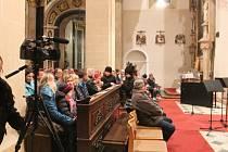 Kostel svatého Mořice v Kroměříži hostil 18.února benefiční koncert pro Ondru z Kostelan, vybrané peníze poputují na transparentní konto Ondra.