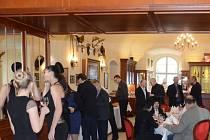Slavnostní otevření nové Zámecké restaurace v Holešově.