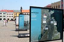 Kroměříž hostí výstavy pod názvem Města s dobrou adresou, kterou přivezla Asociace cykloměst.