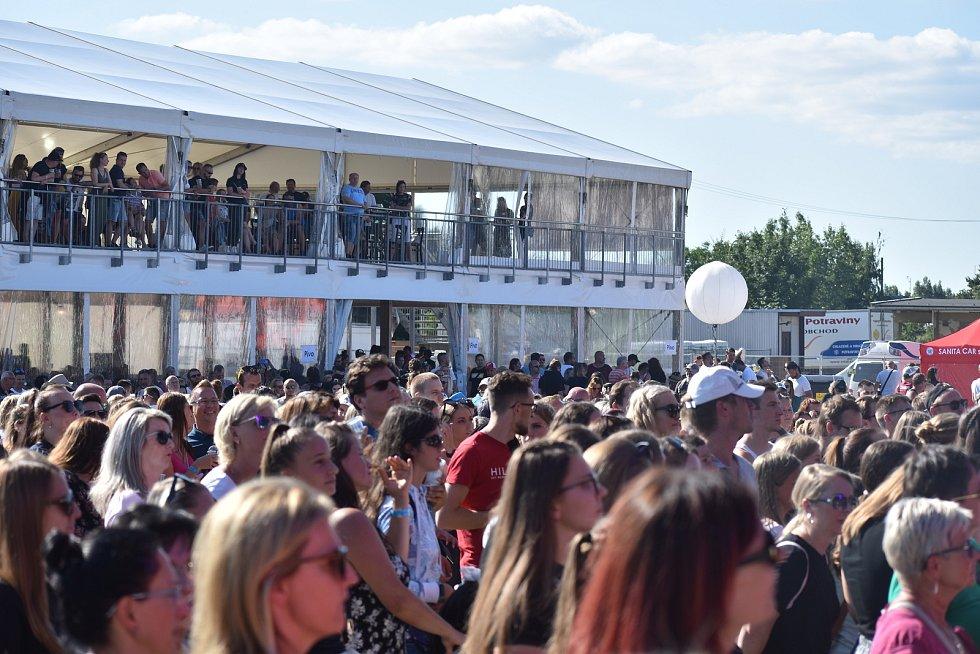 Holešov, Music TON festival. Sobota 10.7. 2021