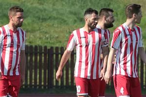 Fotbalisté Spartaku Hulín. Ilustrační foto