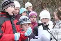 Ve Zdounkách se ve středu 7. prosince 2012 konalo zpívání u vánočního stromečku, součástí byl také prodejní jarmark lidových výrobků a Den otevřených dveří na druhém stupni základní školy.