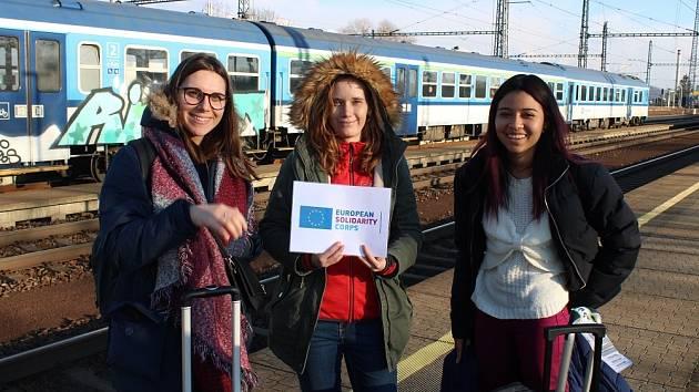 Na začátku března přijela do TYMY španělská dobrovolnice.