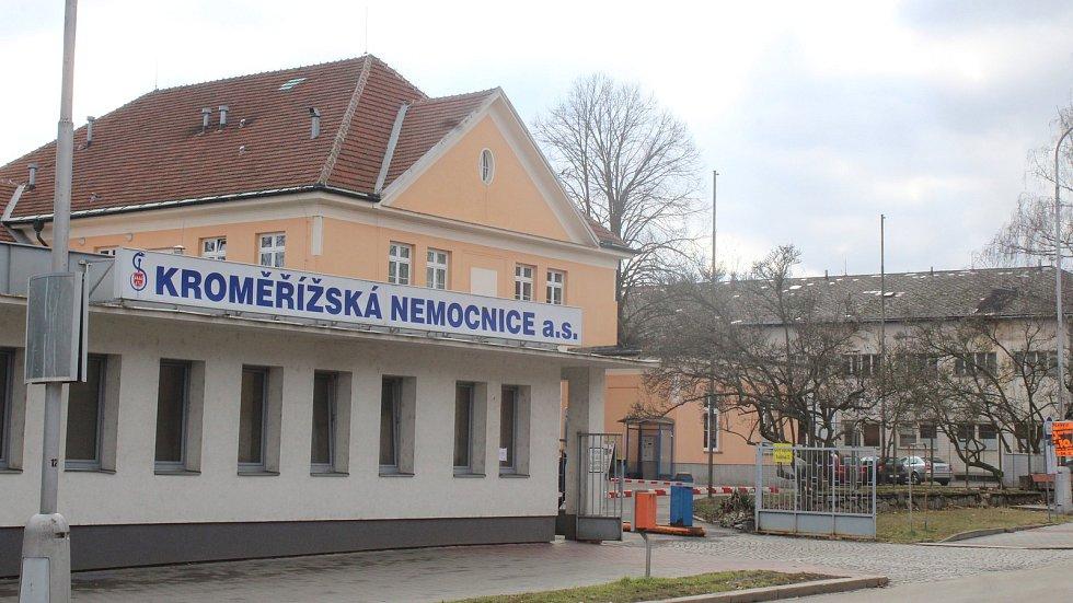 Kroměřížská nemocnice. Ilustrační foto