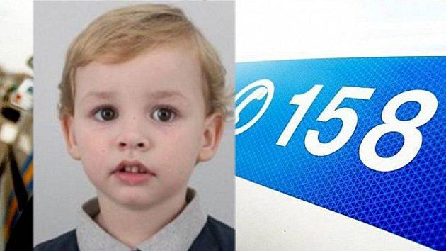 Pohřešovaný čtyřletý chlapec z Kroměřížska