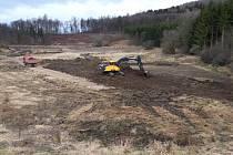 Vodohospodáři vytěží v Koryčanech 40 tisíc tun sedimentů.