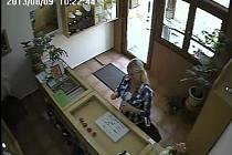 Neznámá žena ukradla ve zlatnictví v Hulíně zboží za pětadvacet tisíc korun, pátrá po ní policie. Poznáváte ji?