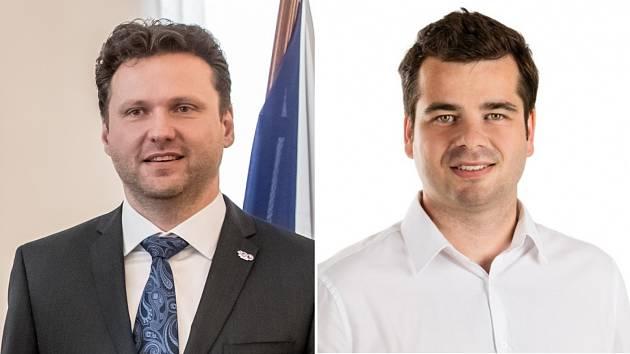 Radek Vondráček (vlevo) a Tomáš Opatrný