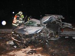 Tragická nehoda na Kroměřížsku