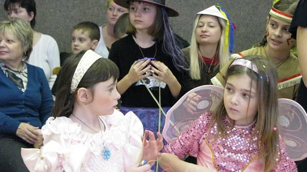 Děti si v Šipce užily karneval