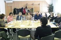 Setkání knihovníků v Knihovně Kroměřížska.