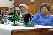 Ve Sportovní hale ve Zdounkách se v pondělí 12. prosince 2011 uskutečnilo předvánoční posezení pro seniory.