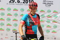V závodu na 31 kilometrů dojel na druhém místě Martin Klár.