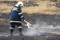 V úterý 21. července 2009 kolem půl jedenácté dopoledne hořela sláma na poli u Lubné. Požár se po seschlé posečené slámě rychle šířil.