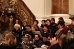 Vánoční koncert v kroměřížském kostele Nanebevzetí Panny Marie