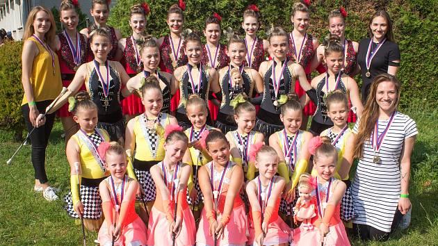 Mažoretky Infinity z Kroměříže vyhrály Mistrovství České republiky v Mohelnici.