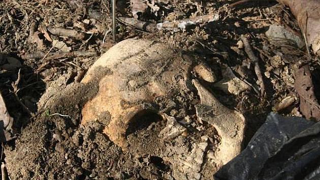 Nezvyklý objev čekal v neděli 28. února na dvaatřicetiletého muže ve větrolamu mezi Kroměříží a Skašticemi. V hlíně tam našel lidské kosterní pozůstatky.