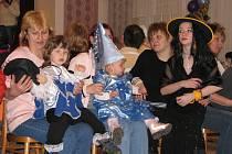 Maškarní bál pro děti v Lubné.