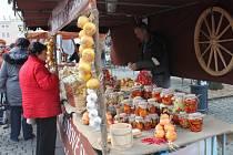 V Kroměříži začaly čtyřdenní Vánoční trhy.