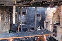 Nedbalost při kouření byla příčinou požáru přístřešku a zateplení vinárny.